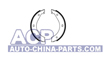 Brake shoes BMW E28/34/36 (handbrake)