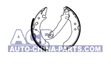 Brake shoes Ford Escort 91-98