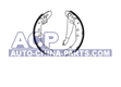 Brake shoes A-100 83-94 /Passat 88-