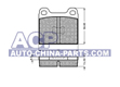 Brake pads VW Golf 1.1-1.6D 74-83 /Polo 75-89