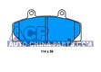 Brake pads Volvo 740/760 2.3-2.8 -92 /940/960 90-
