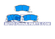 Brake pads Subaru Impreza 92- /Legacy 89-99