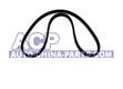Toothed timing belt for crank/camshaft 133 z. VW Golf/Vento 1.6 92-94
