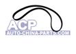Toothed timing belt for crank/camshaft 135 z. VW/Audi 1.6D