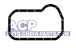 Oil sump gasket (rubber). VW/Audi 1.6-2.0/1.9D