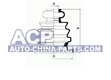 C.V.Joint boot (inside)  A-100 -91 /T-4 91-