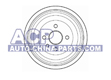 Brake drum Opel Ascona/Astra/Kadett/Vectra A (568057)
