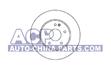 Brake disc MB 202/208/210 93>