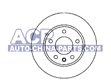 Brake disc VW Golf/Bora 98> /Skoda Octavia 98>