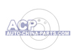 Brake disc VW Golf/Jetta 1.3/1.6D 83-91 (811615301)