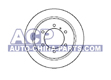 Brake disc Mitsubishi Pajero 91-00 (rear)