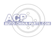 Brake disc BMW E30 82-91 (rear)