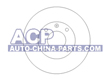 Brake disc A-80 -86 /Golf/Jetta 83-96 (321615301)