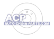 Brake disc A-80 -86 /Golf/Jetta 83-96 (321615301C)
