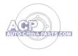 Brake disc A-80 86-91 /A-100 83-91 (443615301)
