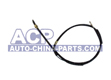 Handbrake cable L/R A-100 83-88 (disc)
