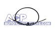 Handbrake cable R. A-80 86-91 (drum)