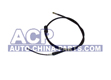 Handbrake cable L/R A-100 91-93 (drum)